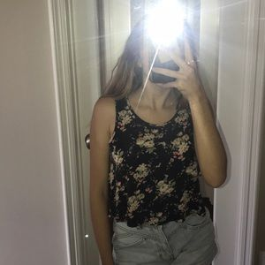 Other - Flower Tank Top Blouse